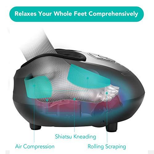 Naipo Fußmassagegerät mit Shiatsu