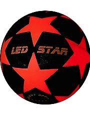 Lichtvoetbal Night Kick LED Star - de gloednieuwe kampioen van lichtvoetbal nu met accessoires