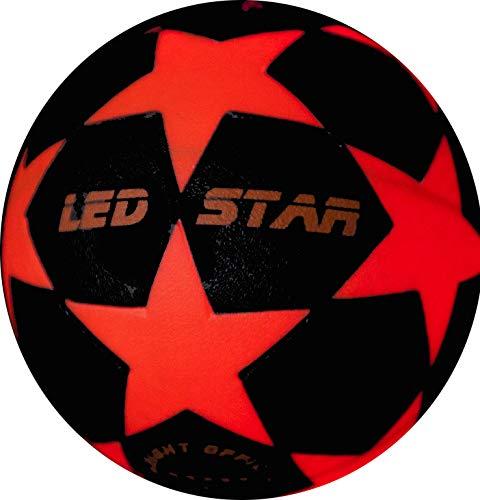 Leuchtfussball Night Kick LED Star- der brandneue Champion der Leuchtfussbälle-jetzt mit Zubehör