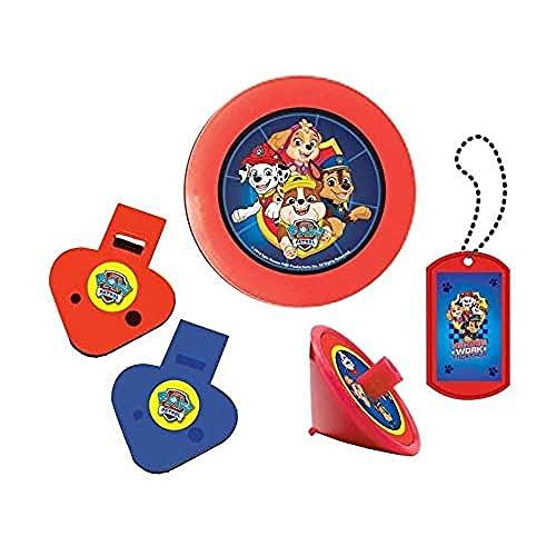 Amscan 9903837 - Partygeschenke-Set Paw Patrol, 24-teilig, Plastik, Mitgebsel, Kindergeburtstag