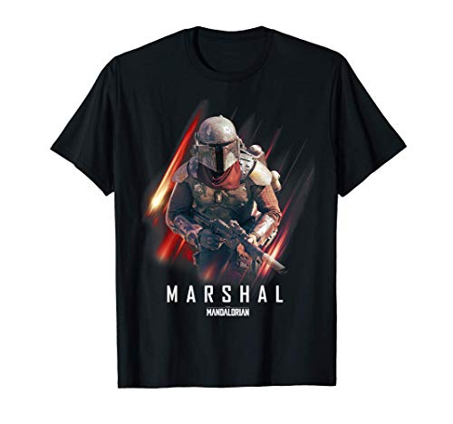 Star Wars: The Mandalorian The Marshal In Action T-Shirt