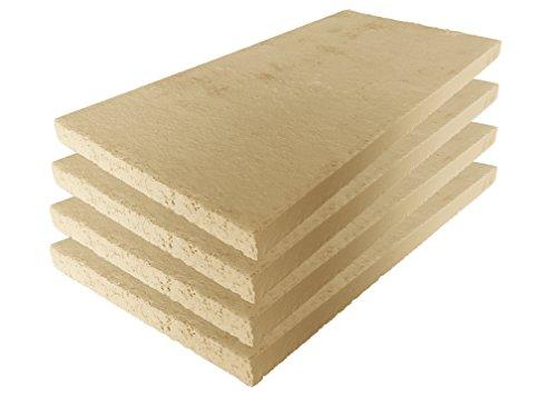Lastra in argilla refrattaria, per forno, alta qualità, 400 x 200 x 20 mm