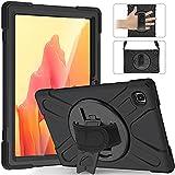 Liaoxig Étui pour Tablette Galaxy pour Samsung Galaxy Tab A7 10.4 2020 T500 / T505 Silicone coloré...