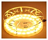 MOLUO 3D Luz de la Noche Acción Dragon Ball Figuras de Bricolaje Conjunto Shenron Dragon Ball Figuras Set Esferas del Dragón + 7pcs 3.5cm Bolas + Figuras LED (Color : LED Base)