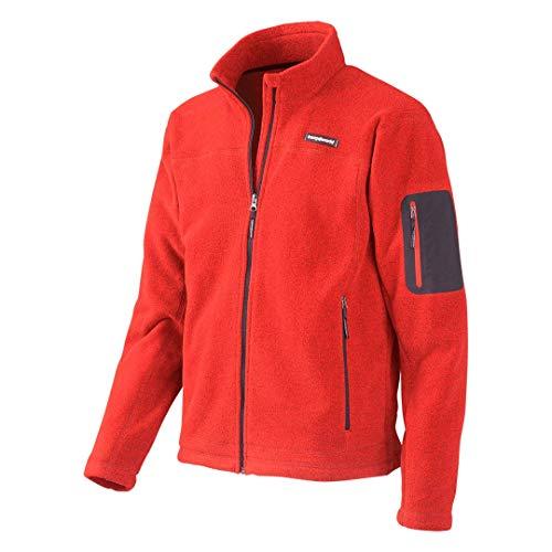 Trango Udde Chaqueta, Hombre, Rojo-(120-rojo volcan), XL