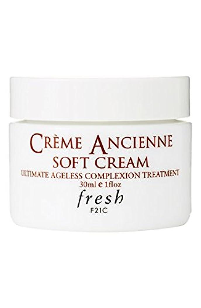 ライブ汚すそしてFresh CRèME ANCIENNE Soft Cream Ultimate Ageless Complexion Treatment(フレッシュ クレーム アンシエン ソフト クリーム オルティメイト エイジレス コンプレクション トリートメント) 1.0 oz (30g) by Fresh for Women