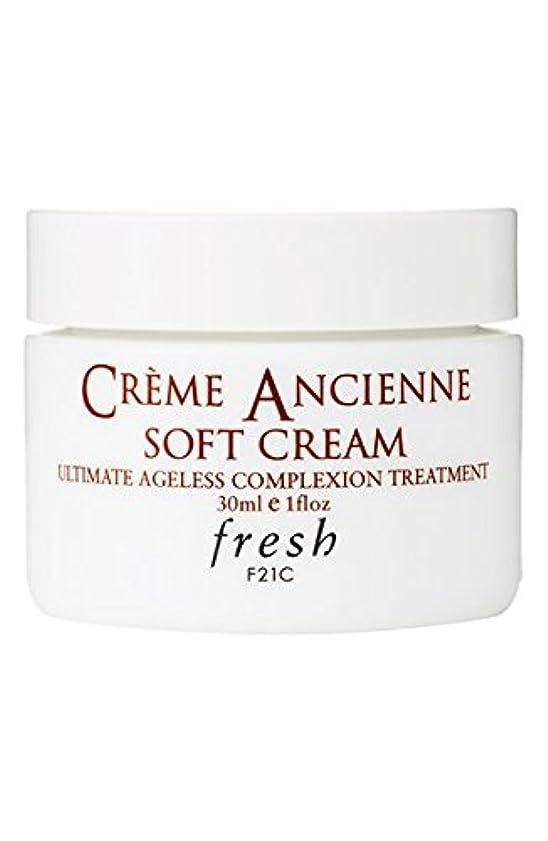 ディレクター証拠の量Fresh CRèME ANCIENNE Soft Cream Ultimate Ageless Complexion Treatment(フレッシュ クレーム アンシエン ソフト クリーム オルティメイト エイジレス コンプレクション トリートメント) 1.0 oz (30g) by Fresh for Women
