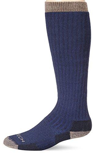 Woolrich Men's Big Wooly Over-The-Calf, Dark Denim, Sock Size:Men's 5-8.5/Women's 6.5-10