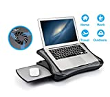 MAX SMART Laptop Lap Pad Laptop Stand with Attached Mouse Pad, Cushion...