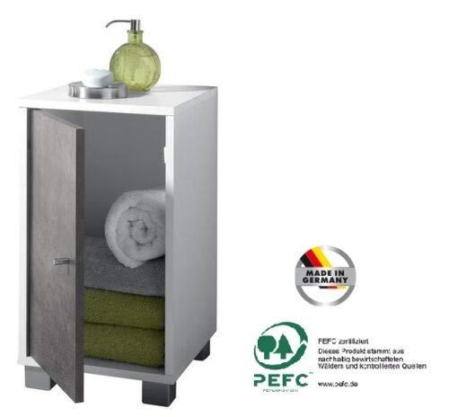 Bad Seitenschrank Badschrank Waschbecken Unterschrank Badmöbel