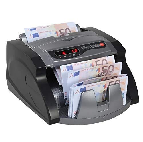 Zerone Banknotenzähler, Geldscheinzählmaschine, mit UV- und MG Erkennung für Zuhause, Geschäft, Bank,