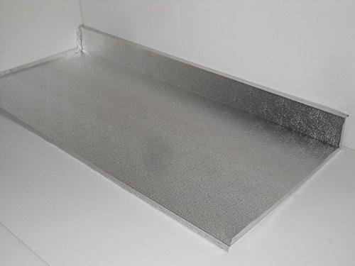 DELPA MOBILI Protezione Alluminio SOTTOLAVELLO Base 80CM con ALZATINA