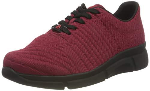 Berkemann Damen Pinar Sneaker, Bordeaux, 41.5 EU