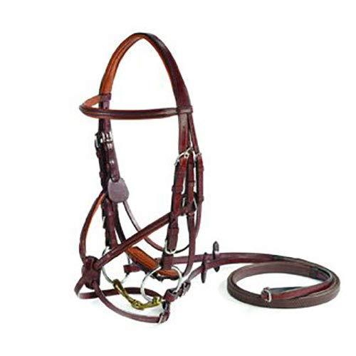 Vespucci Figure-8 Bridle, Size Horse-F/S, Black
