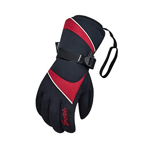 YQRJYB Winter Outdoor Professionele Skihandschoenen Warme handschoenen voor heren en vrouwen voor skiën, snowboarden, fietsen, klimmen