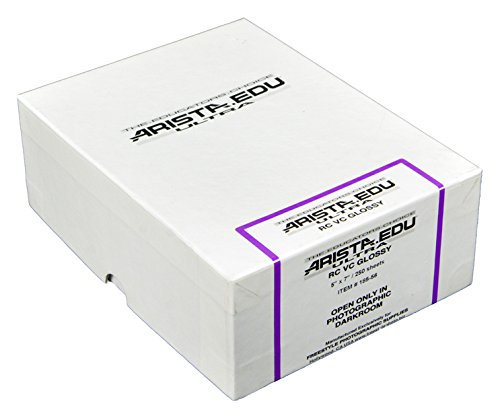 Arista EDU Ultra VC RC Black & White Photographic Paper, Glossy 5x7, 250 Sheets