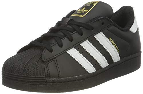 adidas Superstar C, Scarpe da Ginnastica, Core Black/Ftwr White/Core Black, 34 EU