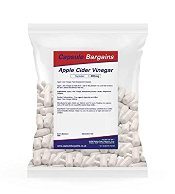 Club Vits 400mg Bargain Apple Cider Vinegar, 360 Capsules