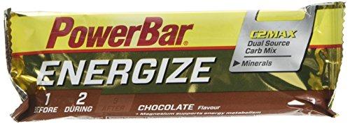PowerBar Energize Bar, Sabor Chocolate, Multicolor, 55 g