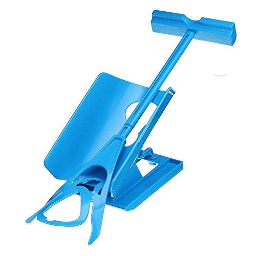 Draghjälpsenhet, strumphjälpmedel, stödstrumpor hjälpmedel för kompressionsstrumpor - utdragbar för äldre, gravid, diabetiker