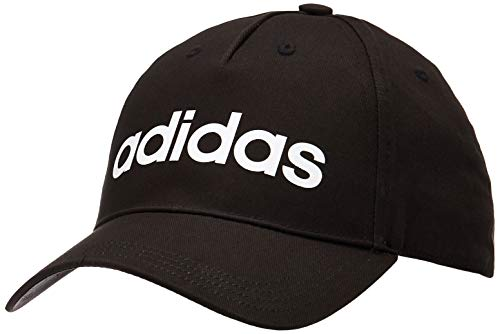 adidas Daily, Cappellino Unisex-Adulto, Nero Bianco, Uni
