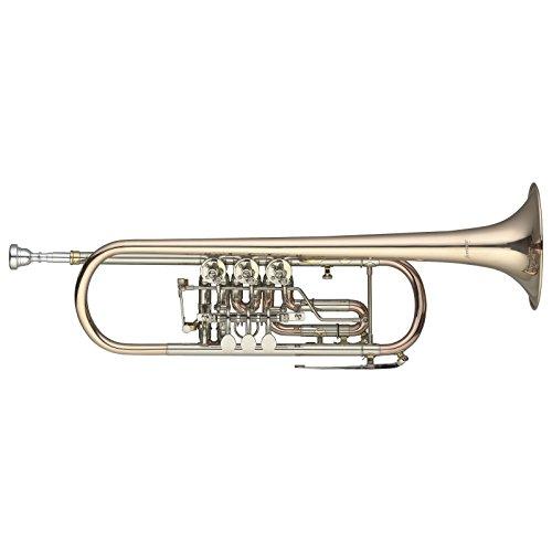 Levante LV-TR6605 B-Trompete mit Drehventilen,Konzerttrompete