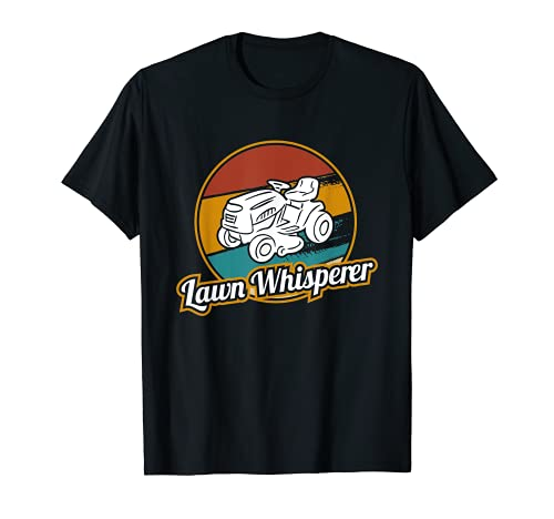 Lawn Whisperer Montar Cortacésped y Tractores Cortacésped Camiseta