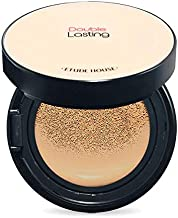 ETUDE HOUSE Double Lasting Cushion #N05 Sand SPF34/PA++ | 24 Hours Long-Lasting, Flawless Skin Make-up for a Moisturized, Smooth and Semi-Matte Skin Finish | Korean Makeup