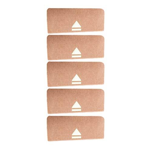 Heheja Leucht Anti Rutsch Stufenmatten Für Treppenteppich Selbstklebend Anti Rutsch Streifen Treppenmatte Beige8