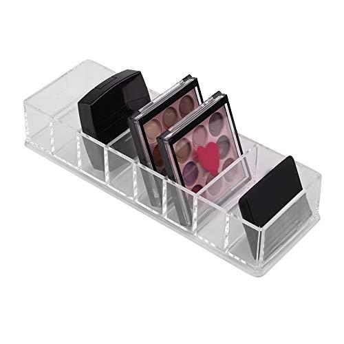 Cas de stockage cosmétique acrylique, organisateur de support d'affichage de maquillage outil de maquillage extensible multi-fonctionnel extensible table tiroir, pour salle de bains, commode(S)