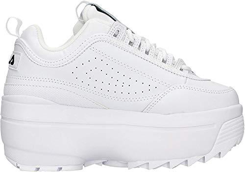 Fila 1010865-1fg, Zapatillas Mujer, Blanco, 39 EU