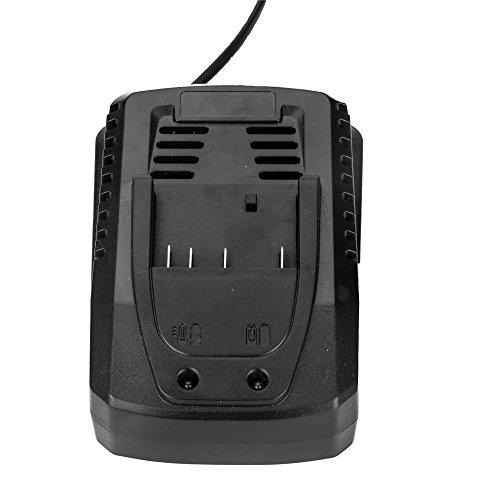 Para Bosch 14.4V- 18V Cargador BAT609 BAT609G BAT618 BAT618G 2607336236 de batería de iones de litio para taladro eléctrico Batteria de herramienta eléctrica