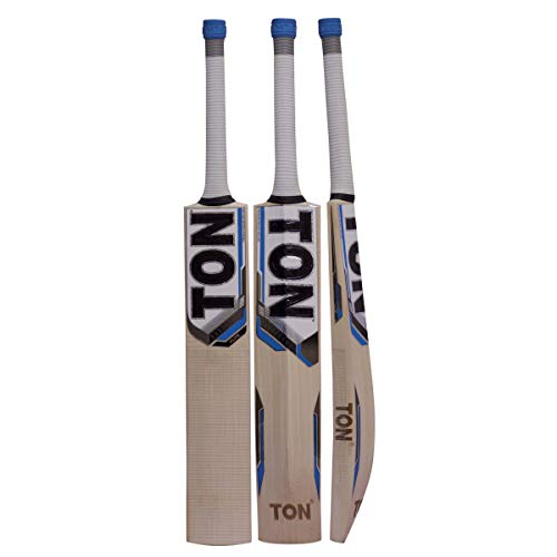 SS Ton Elite English Willow Cricket Bat (Free Extra SS grip, Anti Scuff Sheet & Bat Cover Included)
