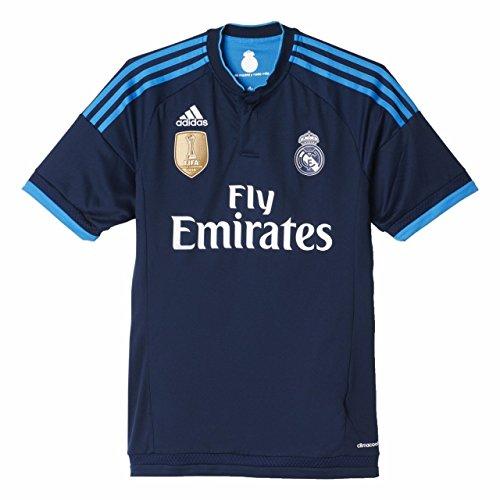adidas Real 3 JSY WC - Camiseta para Hombre, Color Azul Marino/Azul/Blanco, Talla M