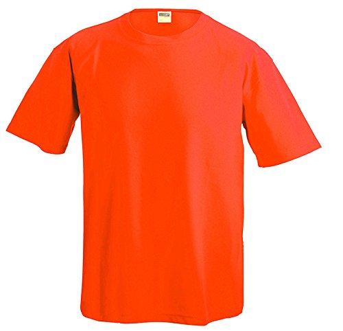 James & Nicholson Function-T Camiseta, Naranja (Terra), XXXL para Hombre