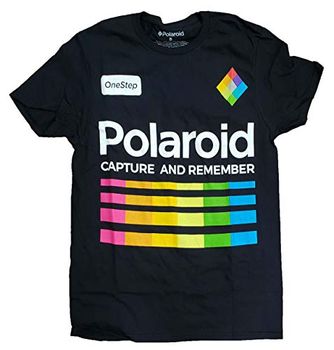 Polaroid Capture and Remember T-Shirt for Men, S or XL