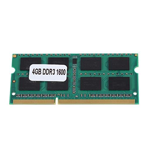 DDR3 4GB 1600MHz PC3-12800 204 Pin PC Computadora Módulo de Memoria de Escritorio Ram Transmisión rápida de Datos para computadora portátil, Plug and Play