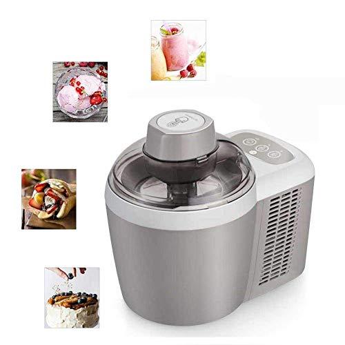 AYDQC Máquina de Postre de Fruta congelada, máquina de Helado automático de 600 ml + Máquina de Helado de Sirviente Suave Totalmente automática de Mini Fruta, operación de un Solo botón Rosa fengong