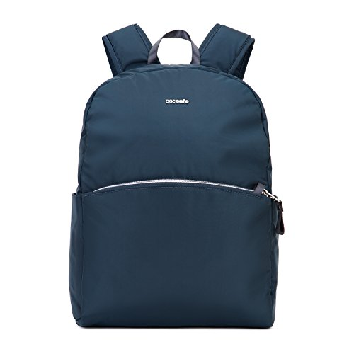 Pacsafe Stylesafe anti-theft backpack Mochila tipo casual, 37 cm, 12 liters, Azul (Navy...