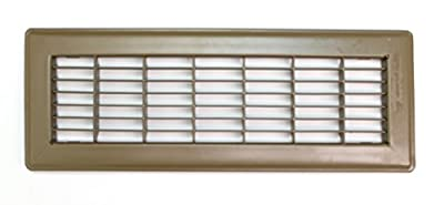 Floor Grille - Fixed Blades Return Air Grille