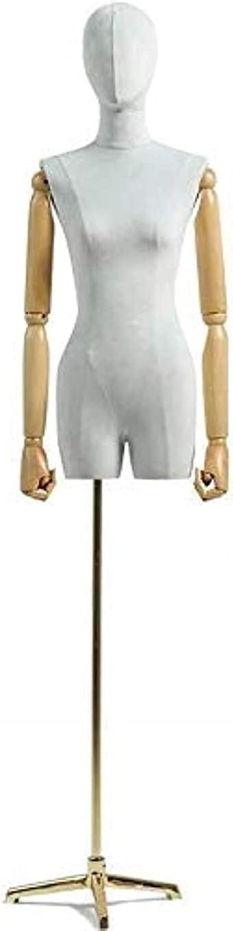 ZRONGQF Mannequin Torso List price Professional Fema Manikins Dummy Super sale period limited Tailors