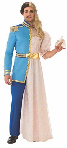 Unique Half Man, Half Woman Adult Costume