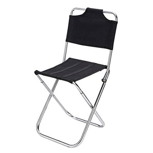 SUNTAOWAN CKQ-KQ al aire libre plegable de aluminio Pesca silla plegable sillas picnic playa viaje portátil camping para hogar silla