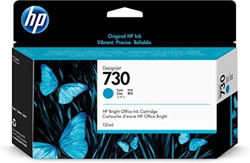 Hewlett Packard P2V62A Inchiostro Ciano Hp730 Adatto a Dnjt1700 130 ml