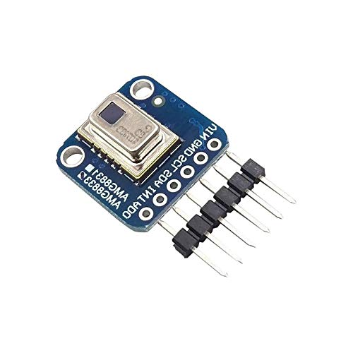 SODIAL Amg8833 Ir Thermal Camera Breakout 8X8 Infrared Thermograph For Arduino R3