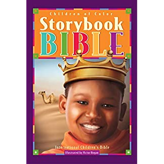Children of Color Storybook Bible (boy w crown cover)