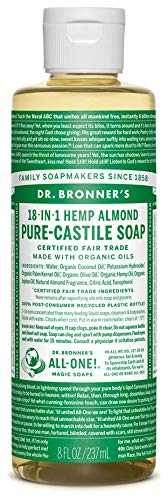 Dr Bronners Liquid Soap Amandel, 60 Ml