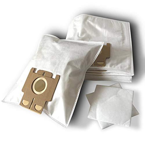 ZZ-Clan 10 Staubsaugerbeutel für Miele S 142, Staubbeutel Filtertüten S142 (+2 Filter - NV604)