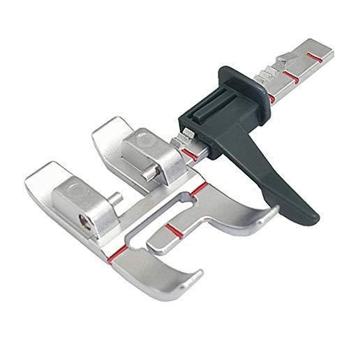 YEQIN Verstellbarer Führungslineal zum Aufstecken, Nähfuß für Pfaff Nähmaschine mit IDT System 820677096