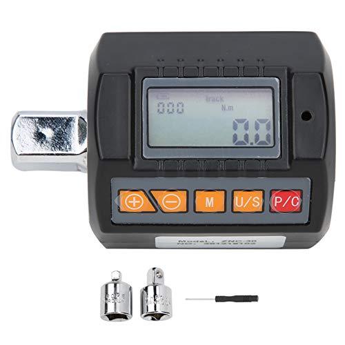 Medidor de torque digital, llave de torque portátil Adaptador de llave de alta precisión para probar la estanqueidad de la tapa del contenedor ZNC-30 3-30N.M Monitor de torque